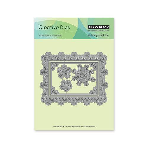 Penny Black - Christmas - Creative Dies - Snowflake Frame