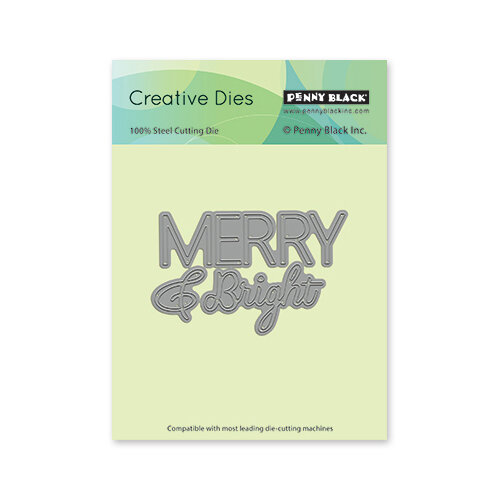 Penny Black - Christmas - Creative Dies - Bright