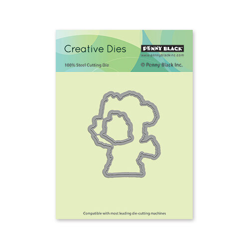 Penny Black - Christmas - Creative Dies - Hopping By Cut Out