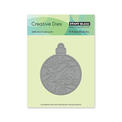 Penny Black - Christmas - Creative Dies - Bird Ornament