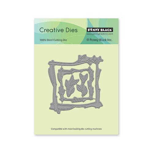 Penny Black - Secret Garden Collection - Creative Dies - Branch Frames
