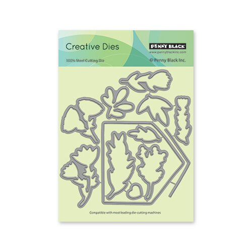 Penny Black - Secret Garden Collection - Creative Dies - Envelope Cut-Out