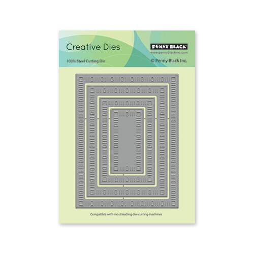 Penny Black - Creative Dies - Dainty Dashes Stackers