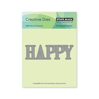 Penny Black - Delight Collection - Dies - Happy
