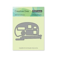 Penny Black - Dream and Discover Collection - Creative Dies - Campers
