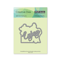 Penny Black - Delight Collection - Dies - Relax Cut-Out