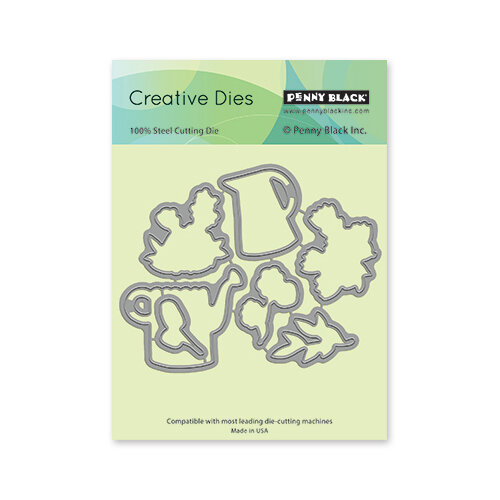 Penny Black - Delight Collection - Dies - Garden Fresh Cut-Out