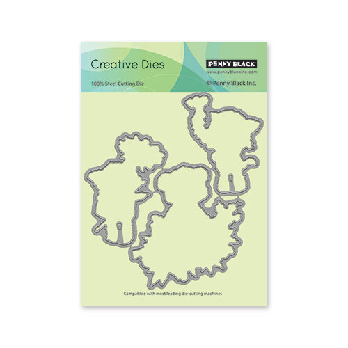 Penny Black - Delight Collection - Dies - Fragrant Friends Cut-Out