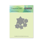 Penny Black - Home For Christmas Collection - Creative Dies - Dancing Snowflakes