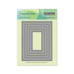 Penny Black - Home For Christmas Collection - Creative Dies - Stitched Frames