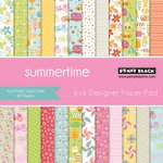Penny Black - 6 x 6 Paper Pad - Summertime