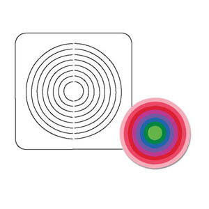 Coluzzle Nested Circle Template