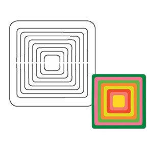 Coluzzle Nested Square Template