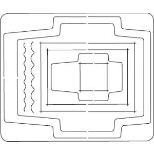 Coluzzle Envelope, Card and Tag Template