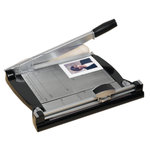 Purple Cows Incorporated - Two In One Combo Trimmer - Paper Trimmer - Charcoal and Black