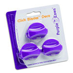 Purple Cows Incorporated - Click Blades 3 Pack - Deco - Works With Models 1030, 1040, 1040c, 1050, 1060, and 6040