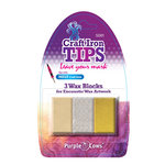 Purple Cows Incorporated - Craft Iron Tips - Encaustic Wax Refill - Gold Silver Clear
