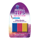 Purple Cows Incorporated - Craft Iron Tips - Encaustic Wax Refill - Red Yellow Blue
