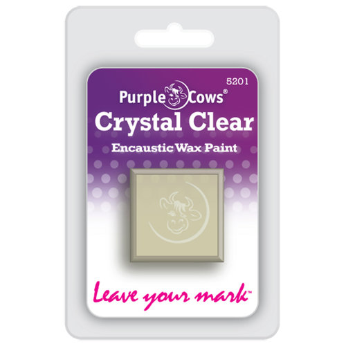 Purple Cows Incorporated - Encaustic Paint Cubes - Crystal Clear