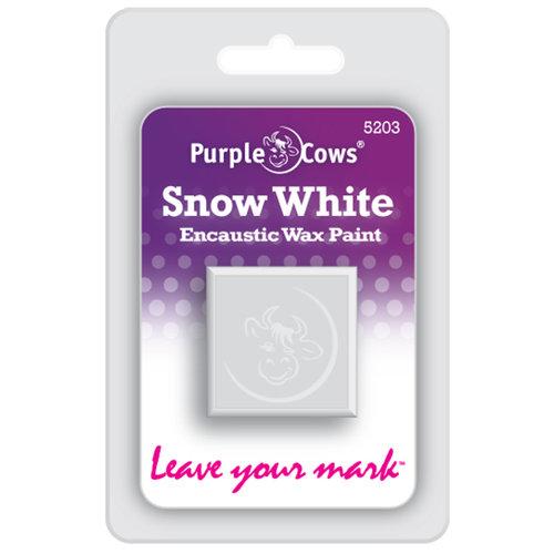 Purple Cows Incorporated - Encaustic Paint Cubes - Snow White