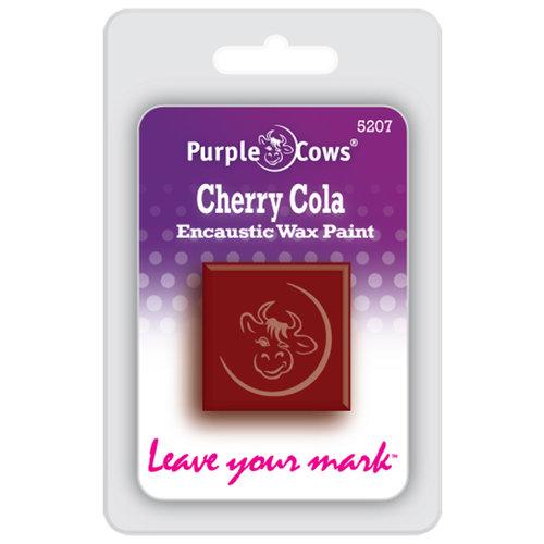Purple Cows Incorporated - Encaustic Paint Cubes - Cherry Cola