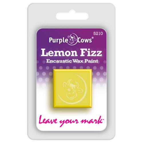 Purple Cows Incorporated - Encaustic Paint Cubes - Lemon Fizz