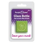 Purple Cows Incorporated - Encaustic Paint Cubes - Glass Bottle Green