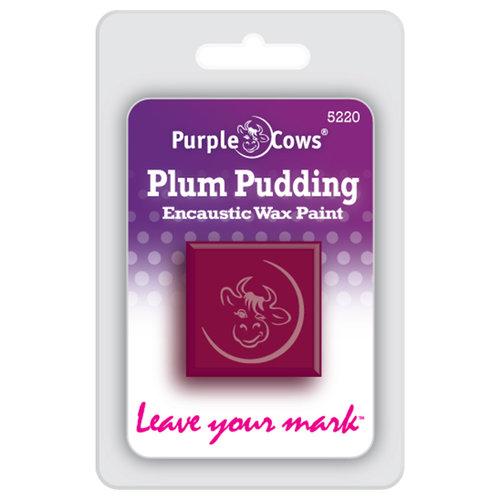 Purple Cows Incorporated - Encaustic Paint Cubes - Plum Pudding