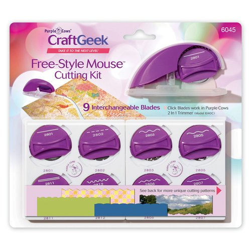Purple Cows Incorporated - Freestyle Mouse Cutting Kit