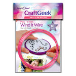 Purple Cows Incorporated - Craft Geek - Wind It - Wire - Pink