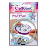 Purple Cows Incorporated - Craft Geek - Wind It - Wire - Silver
