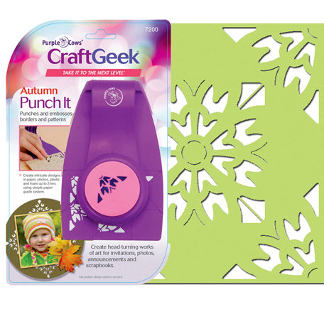 Purple Cows Incorporated - Craft Geek - Punch It - Autumn