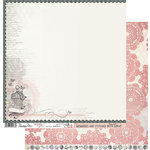Penelope Dee - Mother of Pearl Collection - 12 x 12 Double Sided Paper - Wonder