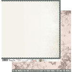 Penelope Dee - Mother of Pearl Collection - 12 x 12 Double Sided Paper - Amazing