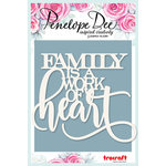 Penelope Dee - Mother of Pearl Collection - Embellish It - Family is a Work of Art