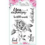 Penelope Dee - Mother of Pearl Collection - Clear Acrylic Stamps - You are Amazing