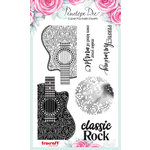 Penelope Dee - Maestro Collection - Clear Acrylic Stamps - Classic Rock