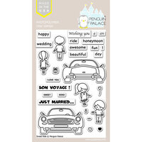 Penguin Palace - Clear Photopolymer Stamps - Sweet Ride