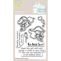 Penguin Palace - Clear Photopolymer Stamps - Get Well Soon