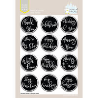 Penguin Palace - Clear Photopolymer Stamps - Warmest wishes