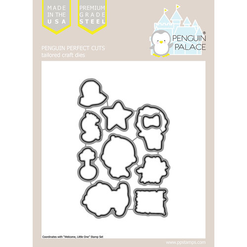 Penguin Palace - Perfect Cuts - Dies - Welcome Little One