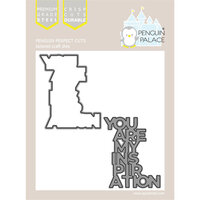 Penguin Palace - Perfect Cuts - Dies - You Are My Inspiration Shadow