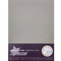 Penguin Palace - 8.5 x 11 Premium Fine Paper - Buried Snowflakes