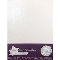 Penguin Palace - 8.5 x 11 Heavyweight Premium Cardstock - Platinum Charm