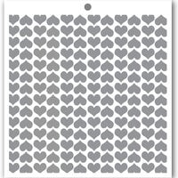 Penguin Palace - 6 x 6 Stencils - Rain of Hearts