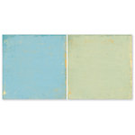 The Paper Loft - Easy Breezy Collection - 12 x 12 Double Sided Paper - Made in the Shade