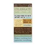 The Paper Loft - Easy Breezy Collection - Cardstock Pieces - Joy