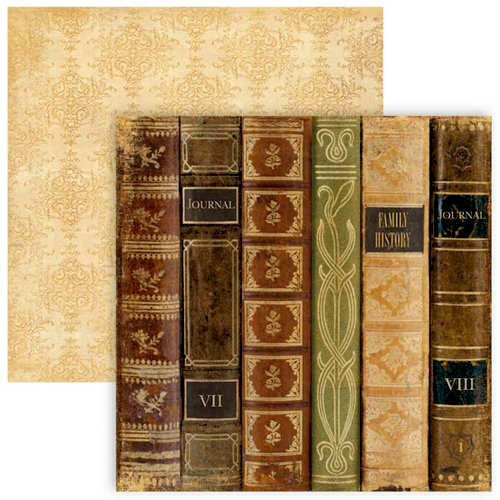 The Paper Loft - For the Record Collection - 12 x 12 Double Sided Paper - Journal