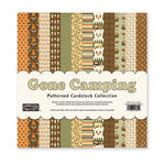 The Paper Loft - Gone Camping Collection - 12 x 12 Patterned Cardstock Pack