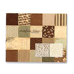 Paper Loft - Grandmas House Collection - Cardstock and Stickers Pack, CLEARANCE